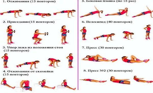 Упражнения для бега в домашних условиях 100