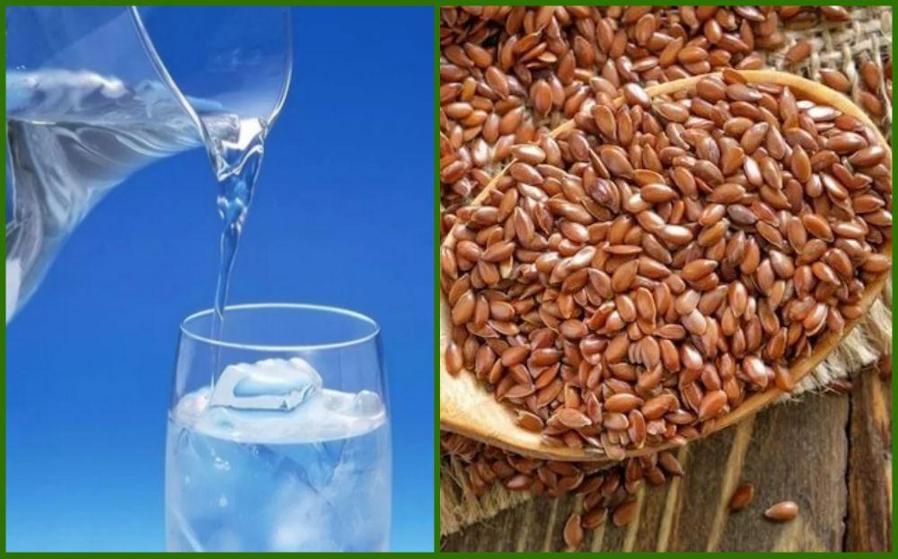 Врачи также советуют пить много воды при употреблении льна.