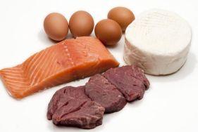 можно питаться мясом (кроме свинины и птицы), рыбой