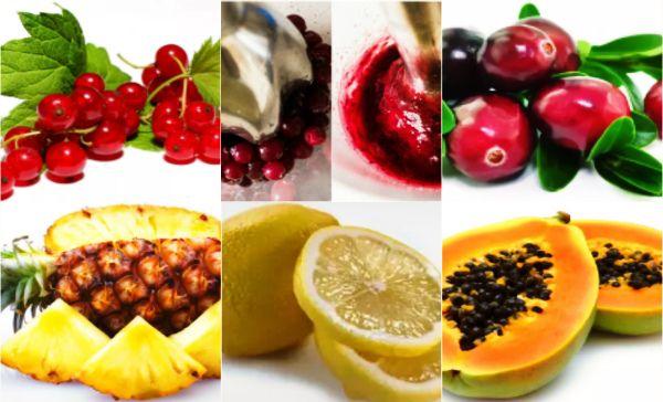 Приготовленное из этих продуктов свежее пюре вполне заменит по своему действию модный пилинг фруктовыми кислотами