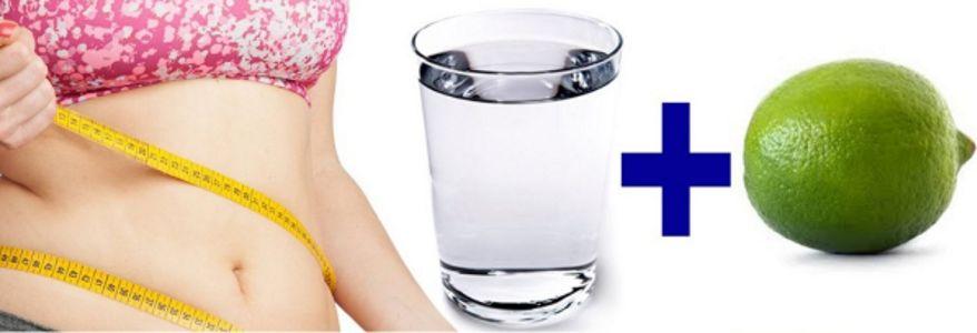 Лимонная вода для похудения живота