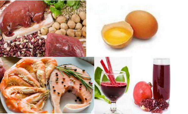 Мясные продукты для увеличения уровня железа в крови