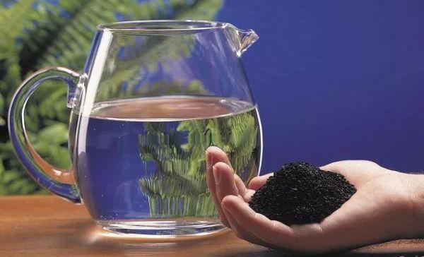 Очищение воды активированным углём