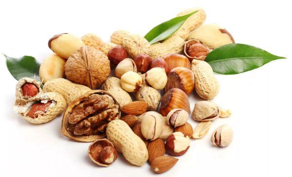 Удивительно полезная еда - орехи