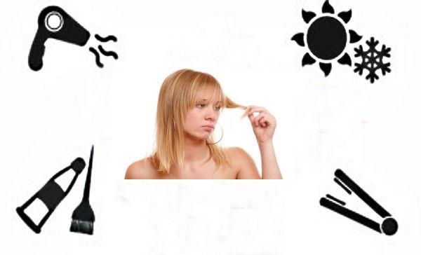почему выпадают волосы причины