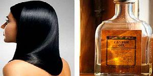 Касторовое масло втирают непосредственно в корни волос
