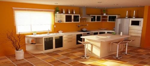 касается интерьера кухни, то рекомендуется оформлять ее в таких цветах, как желтый и его оттенки.