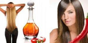 Красный молотый перец применяется во многих шампунях и масках для волос