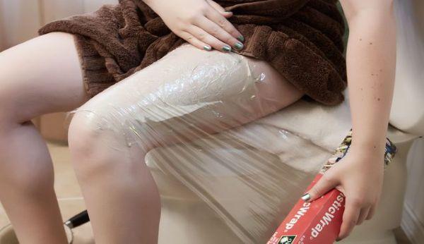 Обертывание для похудения ног в домашних условиях