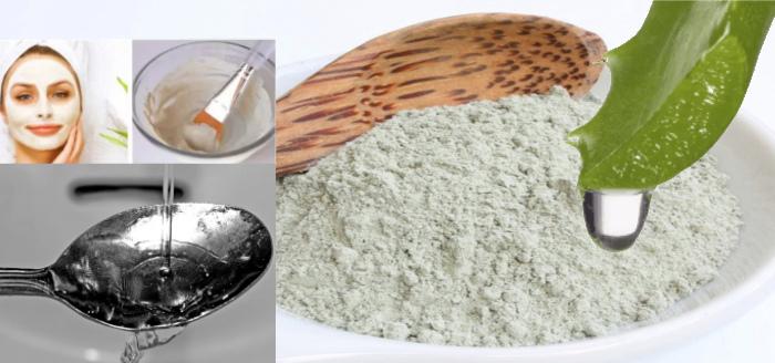 Рецепт маски для лица из белой глины