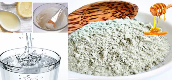Маска для жирного типа кожи на основе белой глины-рецепт