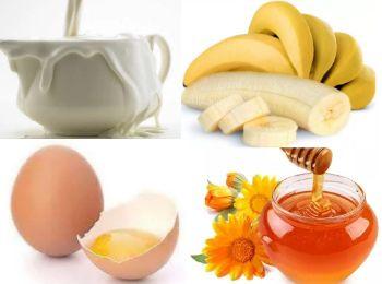 Маска с бананом и медом против морщин