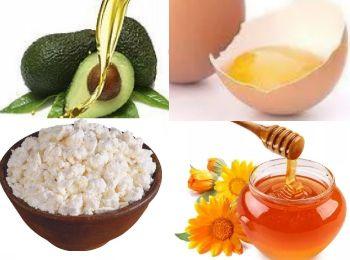 Маска для лица с творогом и медом для увядающей кожи