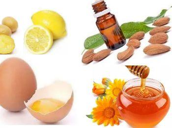 Маска желток и мед для лица от морщин