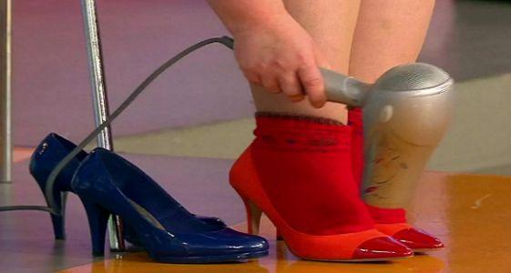 Как растянуть тесную обувь