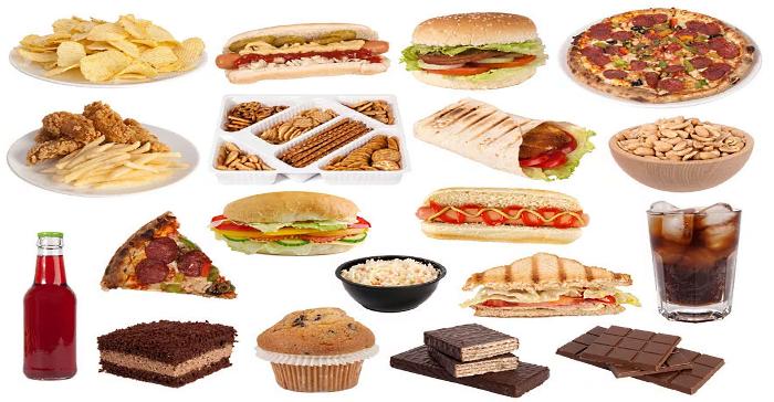 современная пища содержит много пустых калорий